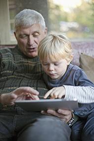 grandad-boy-tablet